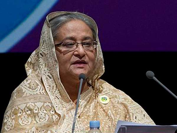 Hasina gives sacked min post in cabinet