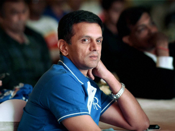 File photo of Rahul Dravid in RR colours