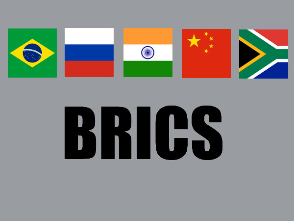 BRICS New Development Bank launched in Shanghai.