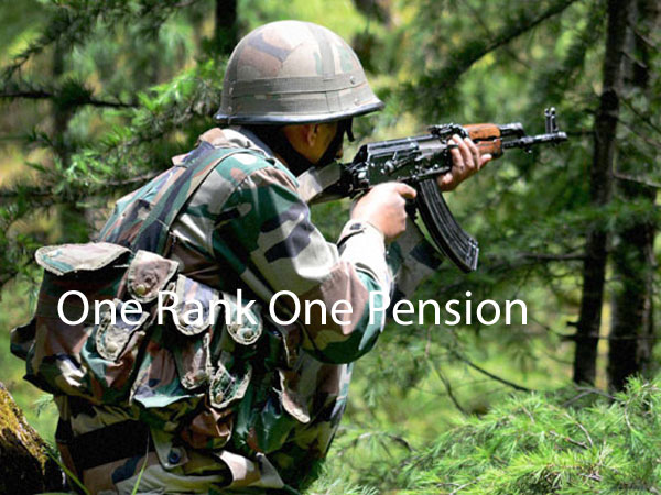 No OROP for paramilitary forces: Govt
