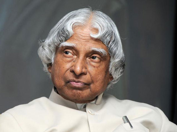 APJ Abdul Kalam hospitalised in critical condition.