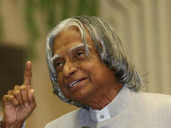 Kalam passed away before he could finish a dream book.
