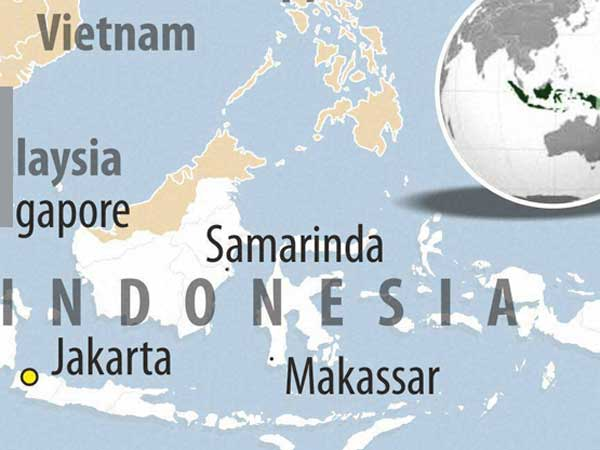 Strong earthquake jolts Indonesia