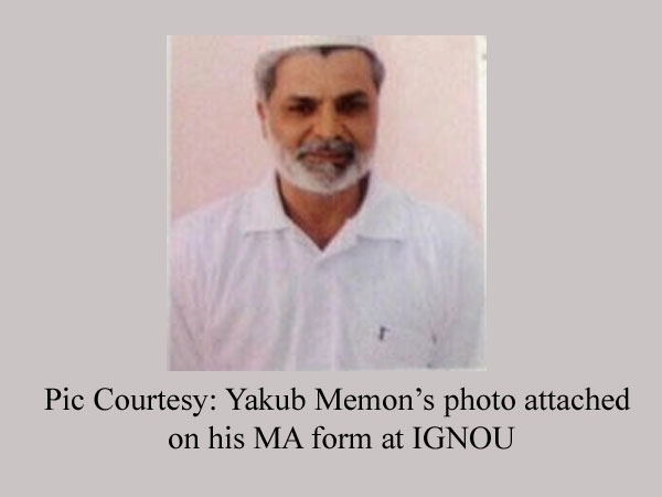 Memon, third convict executed in 4 yrs