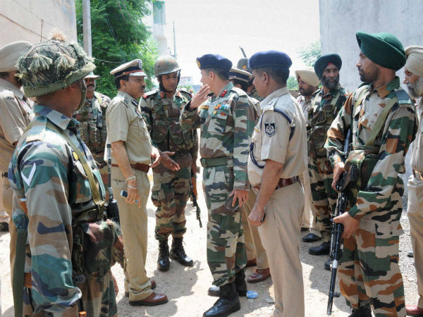 Gurdaspur attackers infiltrated from Pak