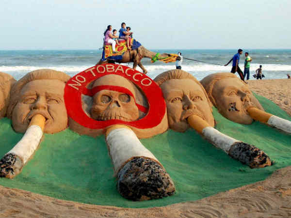 'India second largest consumer of tobacco'.