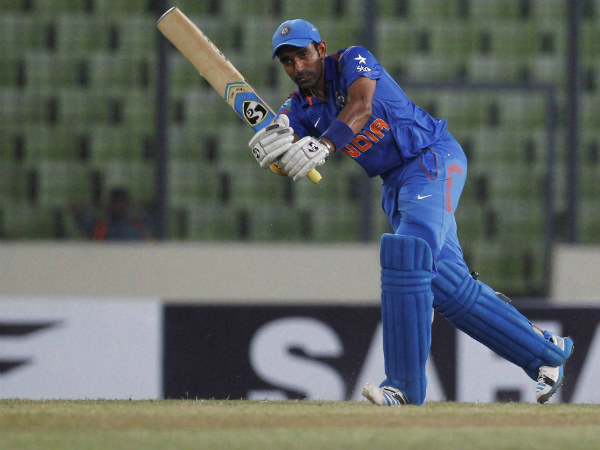 Robin Uthappa top-scored with 39 not out
