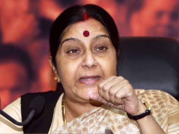 Swaraj asks Indian mission to help woman sold in Oman