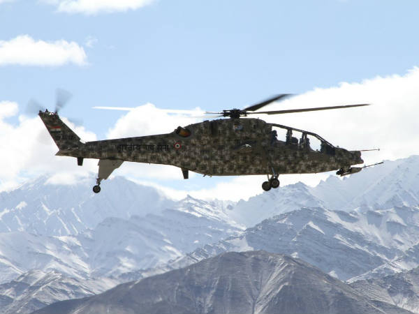 File photo of an IAF helicopter