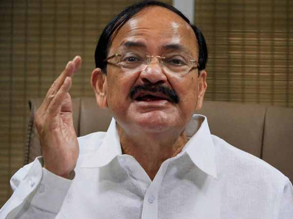 Venkaiah slams Oppn on Parl deadlock
