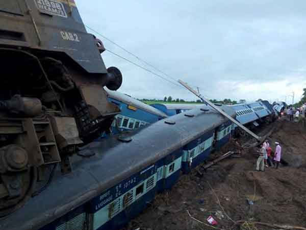 Twin Train Derailment in Madhya Pradesh