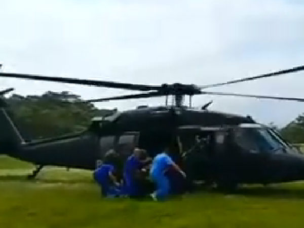 15 policemen dead in Colombia helicopter crash