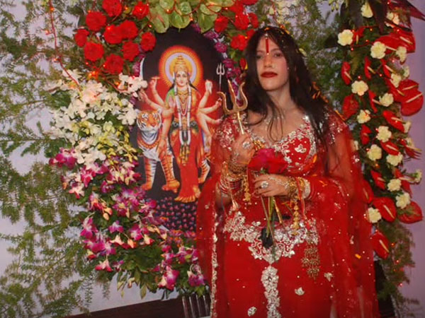 Self-proclaimed godwoman Radhe Maa