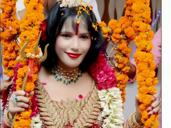 Different avatars of Radhe Maa!