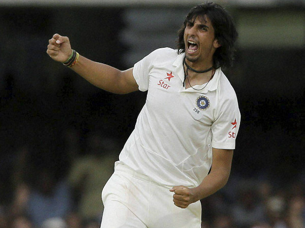 Ishant Sharma destroyed the hosts' top order