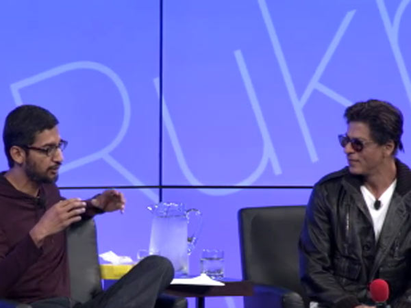 Sundar Pichai's offer to Shah Rukh!