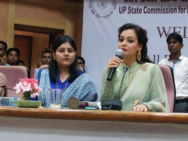 Dia Mirza addresses students