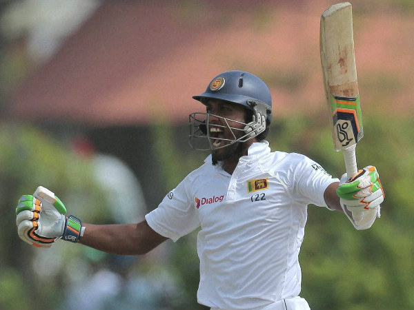 Chandimal is ecstatic after scoring a hundred