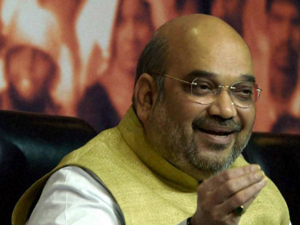 Create new, great India under Modi: Amit Shah to BJP workers.