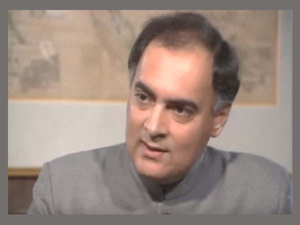 Lesser known facts about Rajiv Gandhi