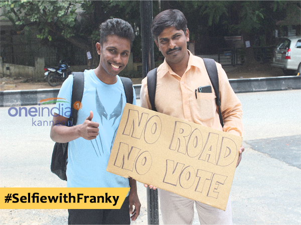No Road No Vote