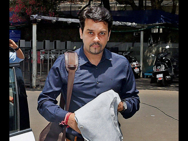 Anurag Thakur wants India and Pakistan to play