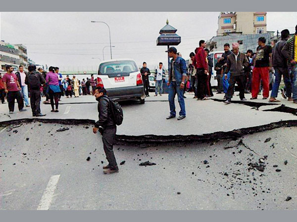 Earthquake measuring 5.0 jolts Nepal.