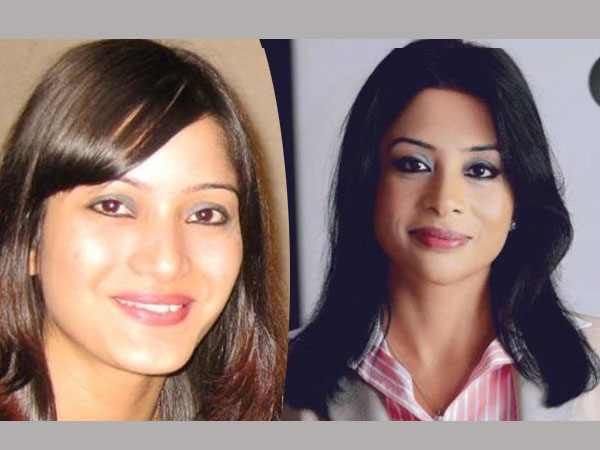 Sheena Bora and Indrani Mukherjea