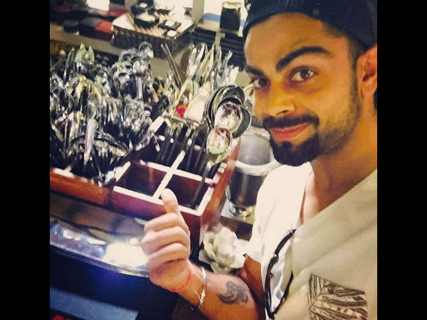 This photo was posted by Virat Kohli on his Instagram account