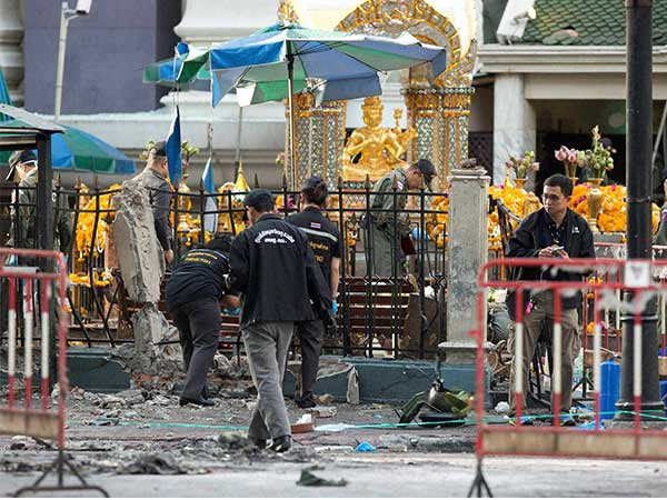 Man arrested for Bangkok blast