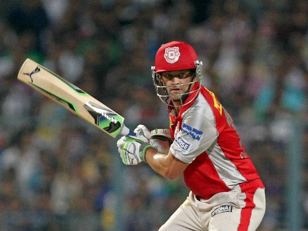 File photo of Adam Gilchrist playing for Kings XI Punjab in IPL