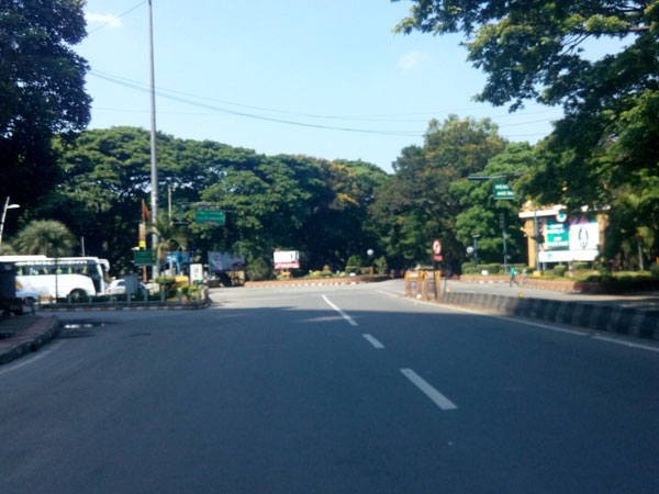 An empty road on a bandh day (File Photo)