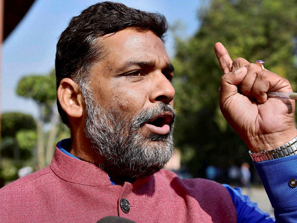 Pappu Yadav threatens to pull out Manipuris from trains in Bihar.