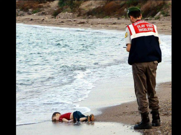 Image of dead Syrian child goes viral