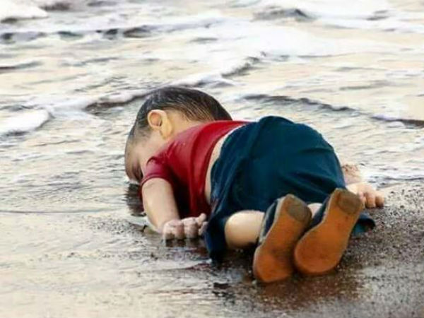 Heart breaking picture of lifeless Syrian child created uproar