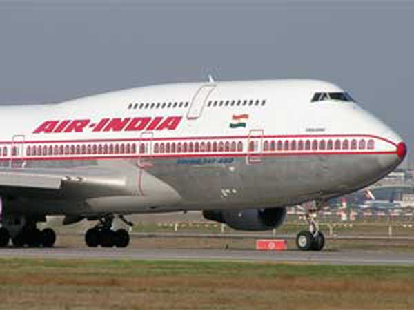 Air India flight catches fire mid-air