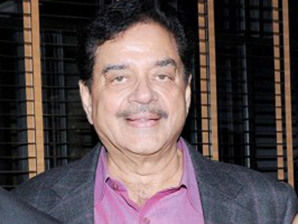 I'm not angry with anyone: Shatrughan