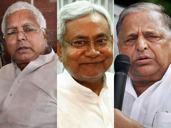 Lalu, Nitish and Mulayam