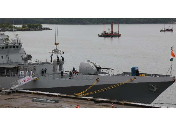 INS Vajrakosh commissioned in Karwar