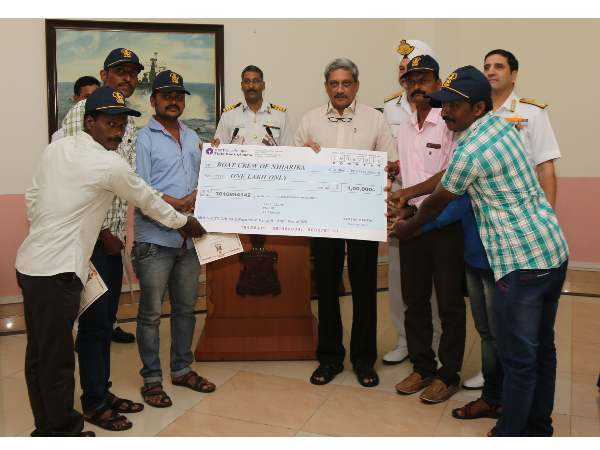 Fishermen felicitated