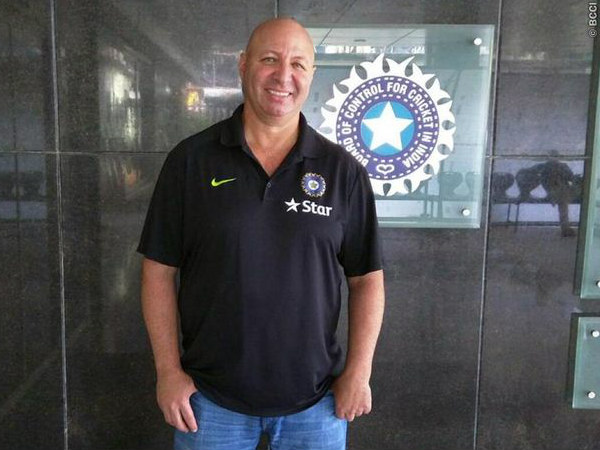 Patrick Farhart poses for a picture. Source: BCCI's Twitter page