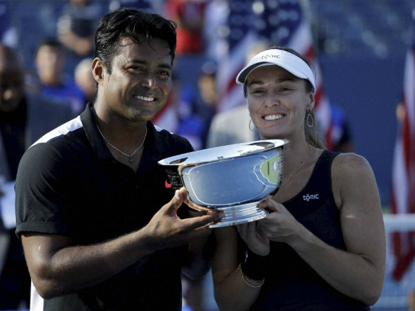 Leander Paes' Grand Slam trophies