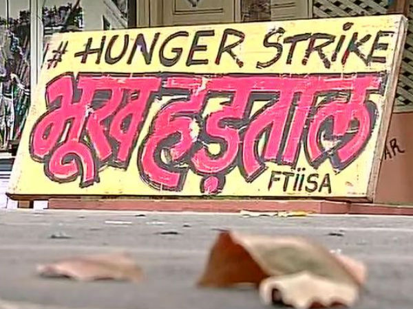 FTII students continue hunger strike