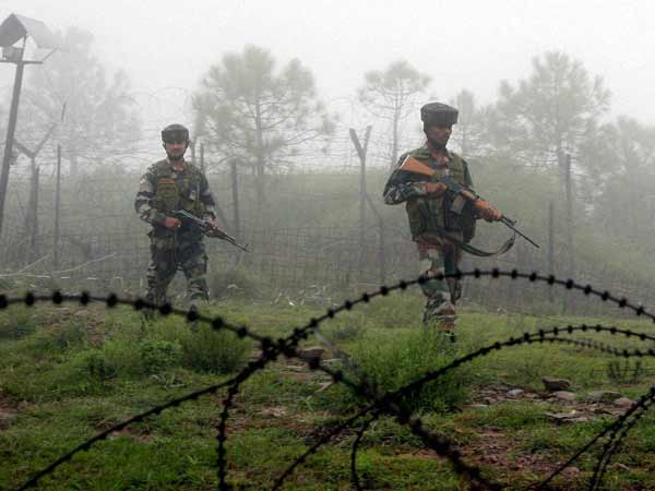 Ceasefire violation by Pakistan in J&K.
