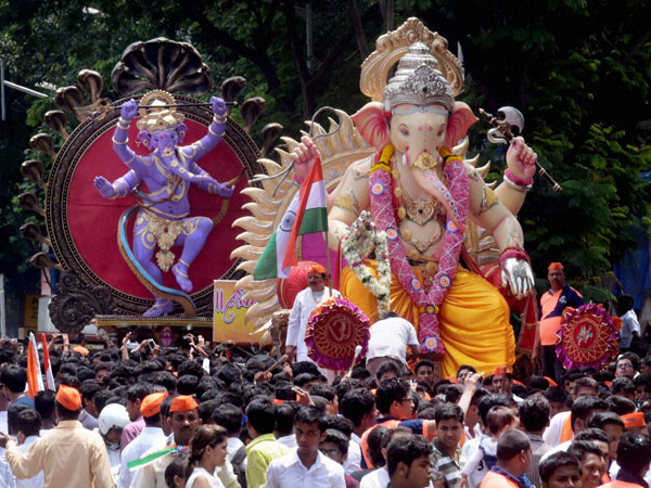 Ganesh Chaturthi Festival In pics: ganesh chaturthi preparations