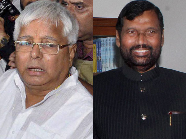 Lalu dares BJP to declare Paswan chief ministerial candidate.