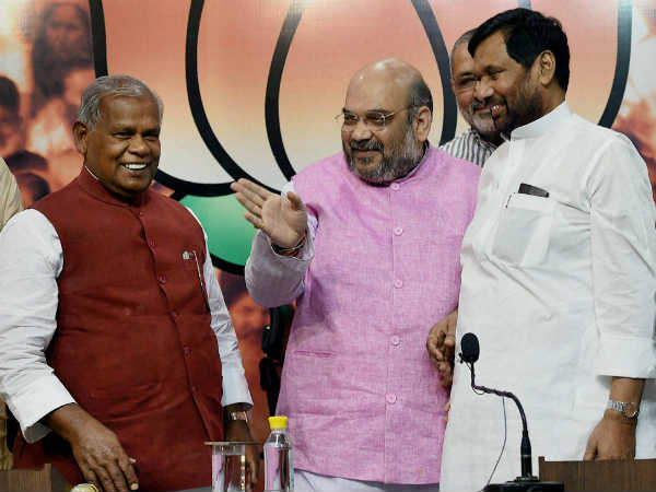 Paswan, Manjhi at loggerheads over two seats.