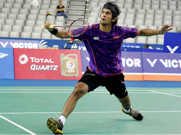 Ajay Jayaram in action at Korea Open