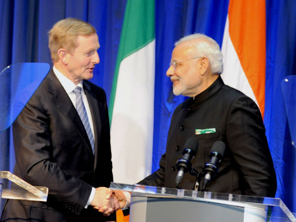 Modi seeks Irish support for UNSC bid