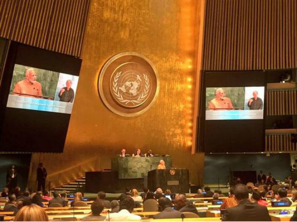 PM Modi calls for reform in UNSC